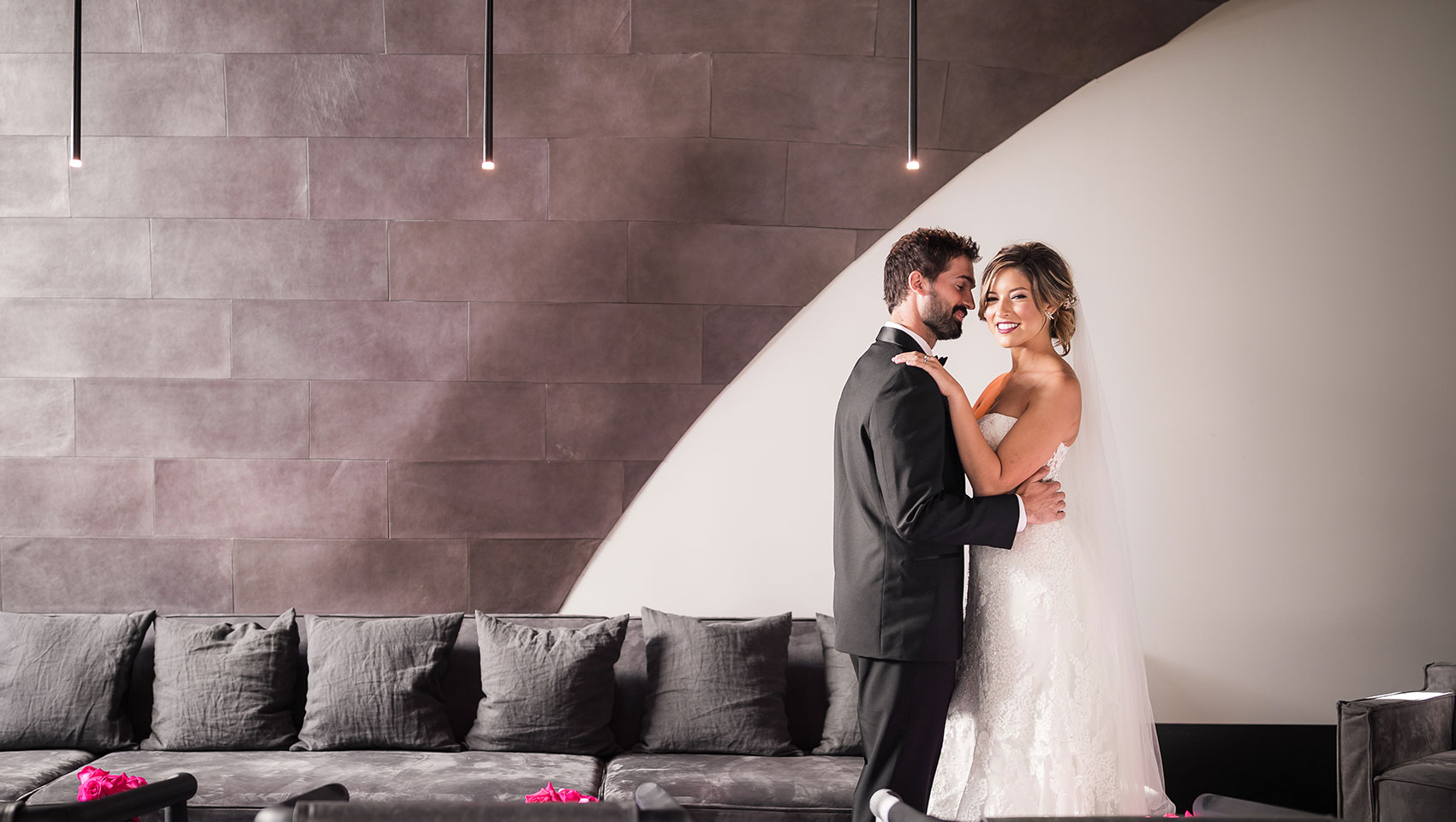 Kimpton La Peer Hotel Wedding ceremony West Hollywood