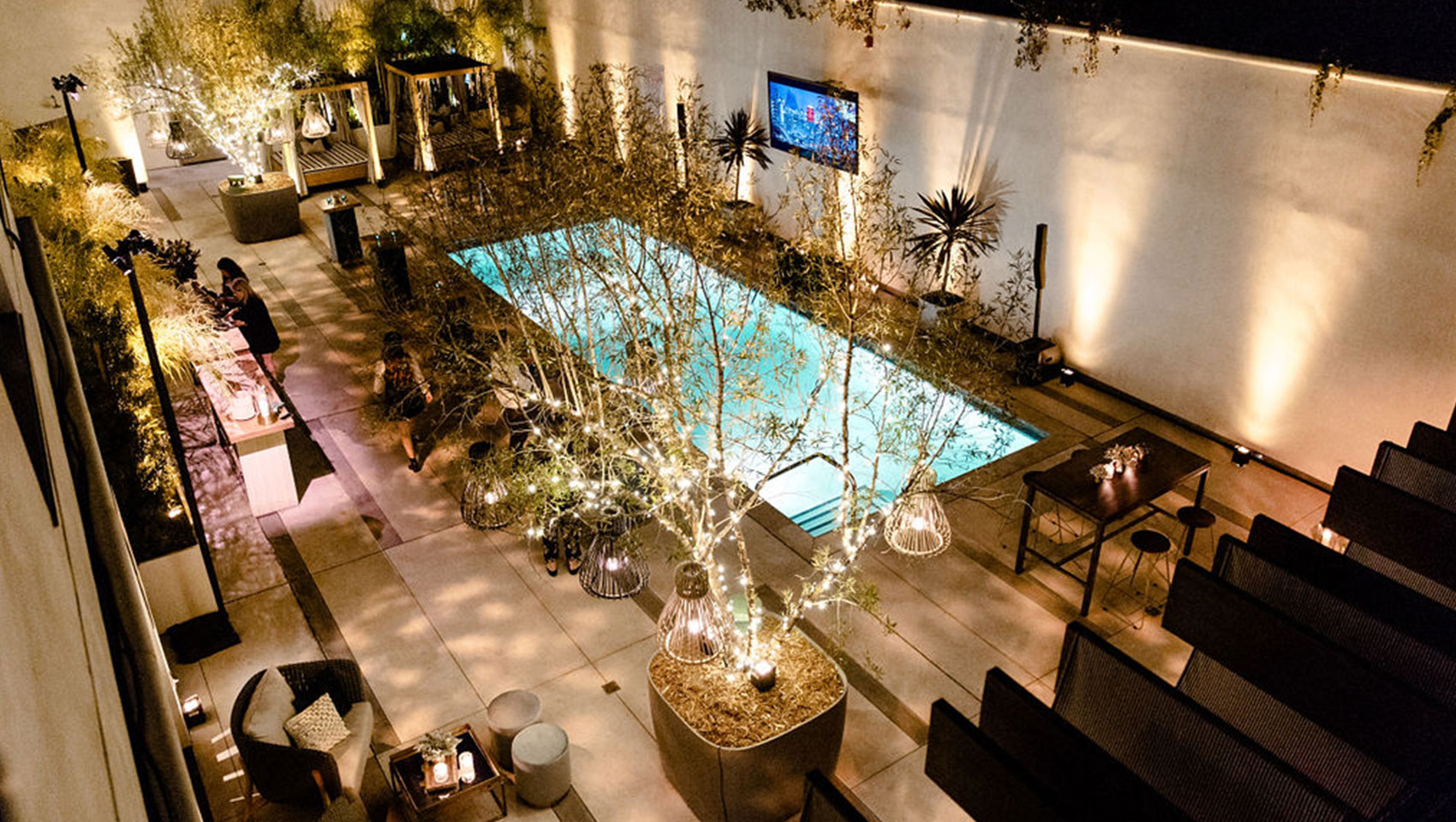 Kimpton La Peer west hollywood Events