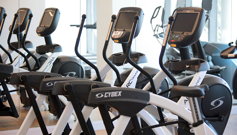 3 elliptical machines
